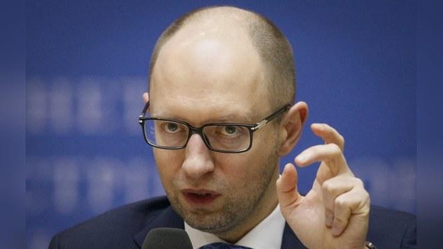Яценюк: Греция подает плохой пример и отвлекает внимание ЕС от Украины