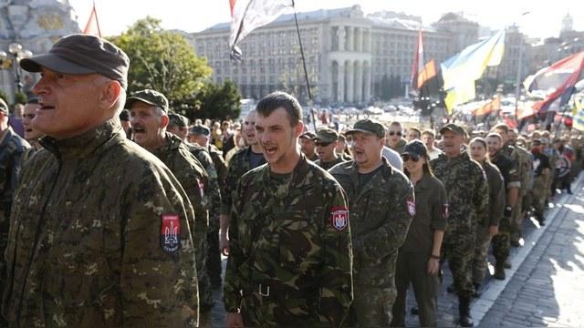 Welt: «Правый сектор» взялся за «режим Порошенко»