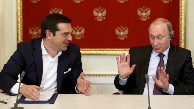 Le Temps: Путин спас Европу, оставив Грецию без драхмы