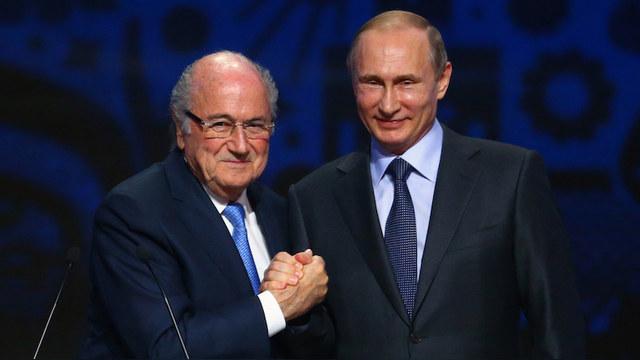 Rzeczpospolita: Блаттер и Путин - дуэт зла и коррупции родом из ада