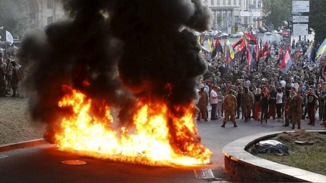 DWN: Лидер украинских националистов призвал «сжечь Москву»