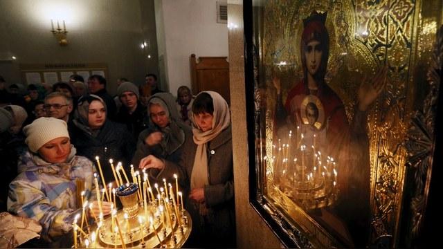 Economist: Россияне разуверились в пользе религии