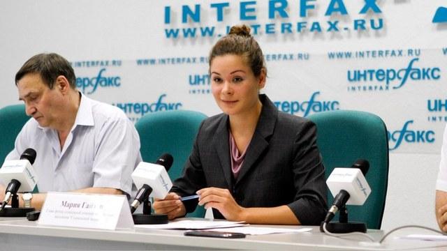 ERR: Мария Гайдар получила украинский паспорт и извинилась за Россию