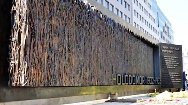 В Вашингтоне возвели мемориал миллионам жертв голодомора