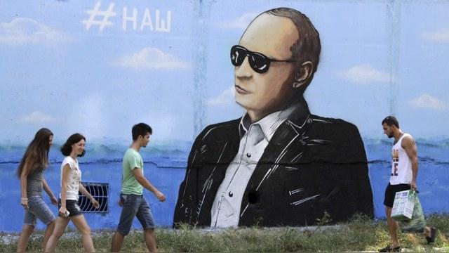 Newsy: Россия держится на здоровье и мужественности Путина