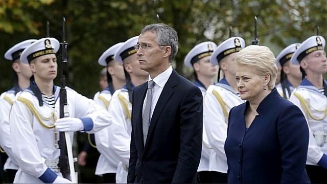 Генсек НАТО открыл новый командный центр в Вильнюсе