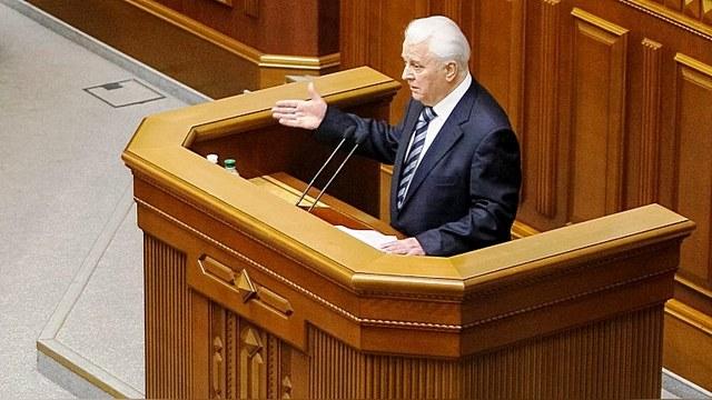 Кравчук предложил России и Западу подписать «договор о мире на Украине»