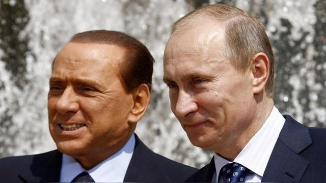 Foreign Policy: Крепкая дружба Путина и Берлускони по-прежнему пугает Запад