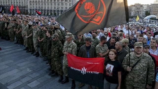 «Правый сектор» устроит блокаду Крыма вместе с крымско-татарскими активистами