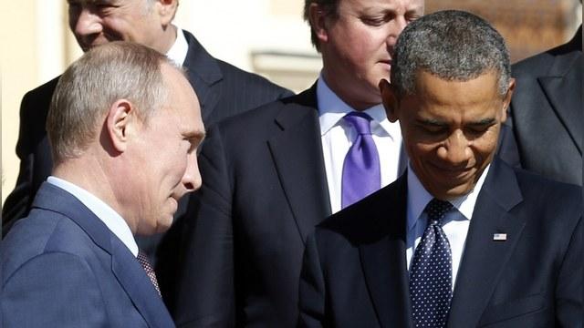 Washington Post напомнила о «неловких встречах» Путина и Обамы