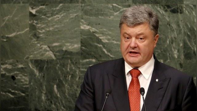 Порошенко: День войны в Донбассе стоит Украине 5 миллионов долларов