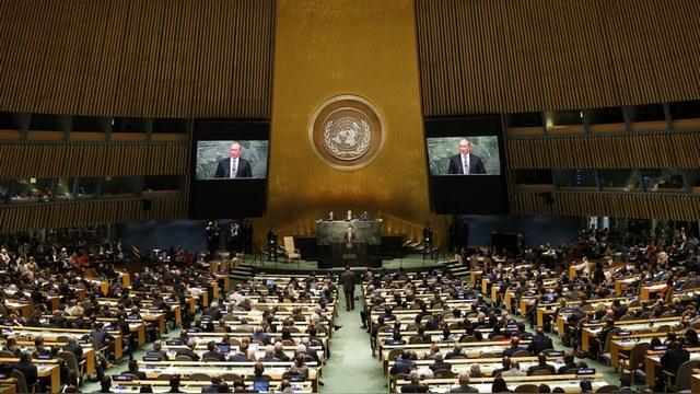 Украинская делегация ООН отказалась слушать «товарища Путина»