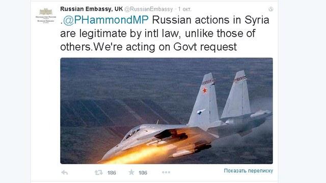 DM: Российские дипломаты напомнили Британии, кто в Сирии «лишний»