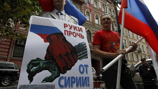 Die Zeit: В сирийском кризисе россияне не на стороне Путина