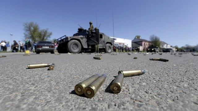 Корреспондент: Украина начала отвод вооружений в Донбассе