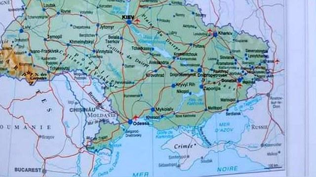 HuffPost: Французские картографы признали Крым частью России