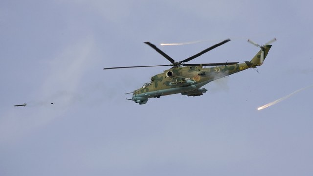 Foreign Policy: Русского за штурвалом Ми-24 видно по мастерству