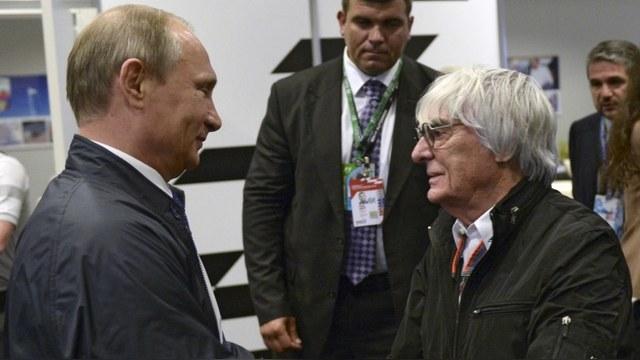 Экклстоун: Путин должен руководить не Россией, а всей Европой