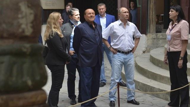Украина возбудила уголовное дело против Берлускони за посещение Крыма