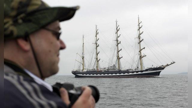 Польский фермер одарил российских моряков «яблоками раздора»