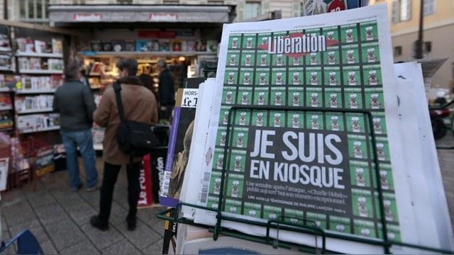 Le Figaro: Шумиха вокруг карикатур Charlie Hebdo на руку Кремлю