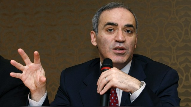 Каспаров: У Путина не осталось врагов в России, поэтому он ищет их за рубежом