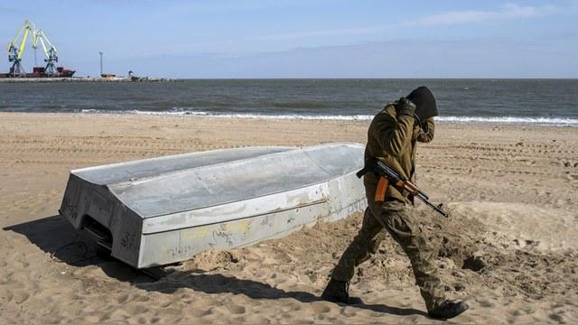 Украина собралась отгородиться от России еще одной стеной, теперь «морской»