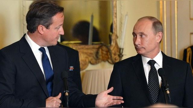 Guardian: Кэмерон попробует отговорить Путина от бомбежек в Сирии