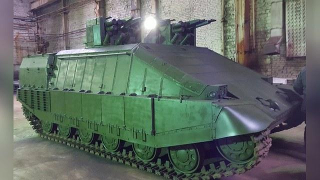 «Инновационный украинский танк» развеселил Рогозина
