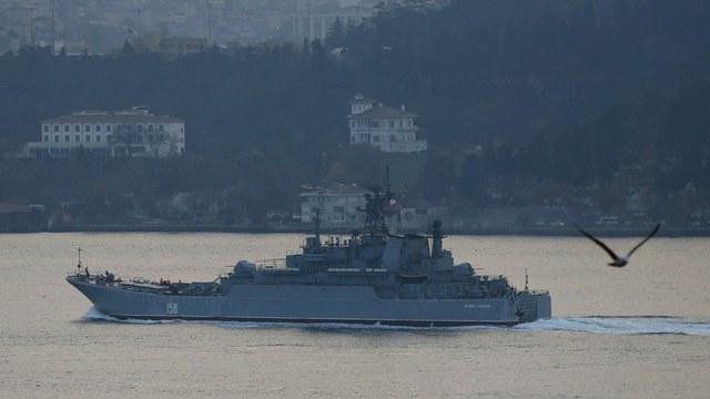 Daily Mirror: Турция испугалась, заметив на российском корабле морпеха с оружием