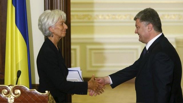 МВФ согласился изменить правила кредитования ради помощи Украине