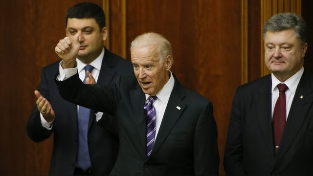 Джо Байден предложил поделить Украину на штаты
