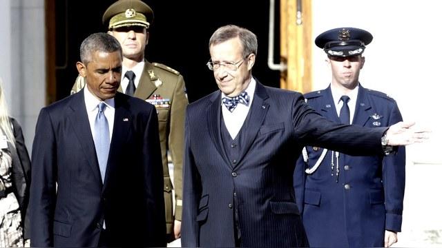 Президент Эстонии: За снятие санкций с Москвы выступают только бестолочи