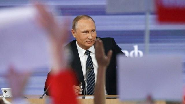 Пресс-конференция Путина заставила корреспондента Libération заскучать