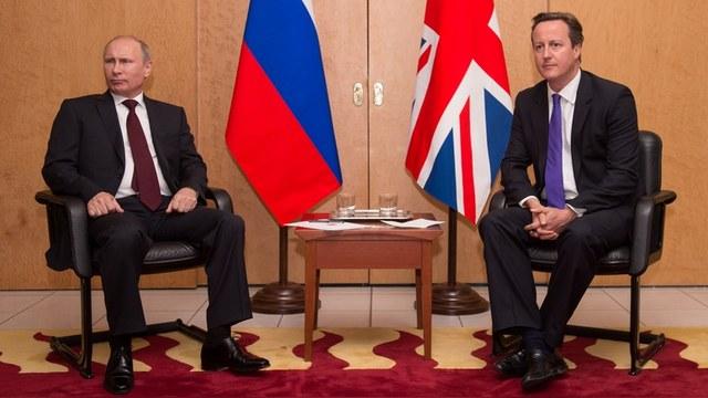 Express: Многие британцы предпочли бы Путина Кэмерону