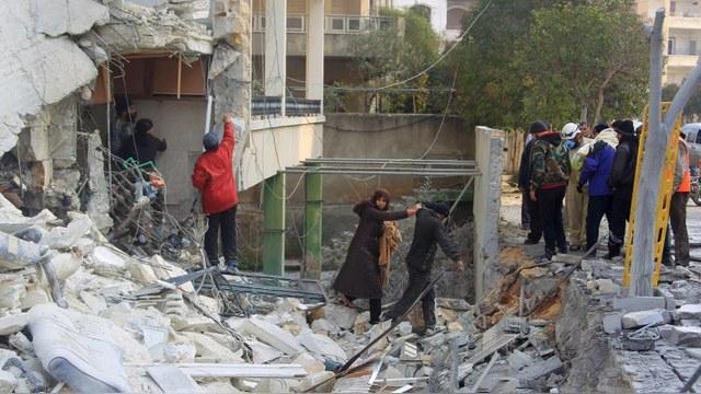 Amnesty International: Авиаудары России в Сирии – военные преступления