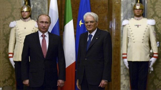 Итальянцы избрали Путина «царем» мировой политики