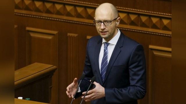 Яценюк пообещал ответить на «эмбарго агрессора» аналогичными санкциями