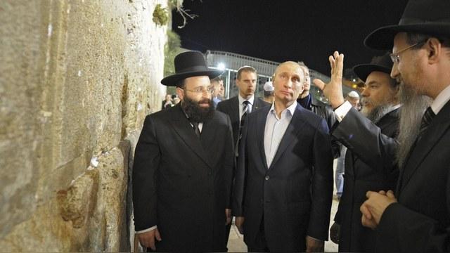 Jerusalem Post: Израильтяне выбрали Владимира Путина человеком года