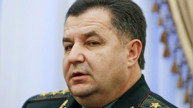 Министр обороны Полторак: Прогуляться по Украине у Путина уже не получится
