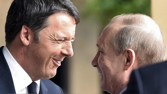 Le Soir: Путин обсудил с итальянским премьером энергетику и Сирию