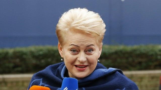 ICTV: Грибаускайте пообещала Украине безвизовый режим, а России – санкции