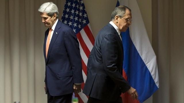 Vox: На карте визитов Лаврова и Керри видно, насколько России далеко до США