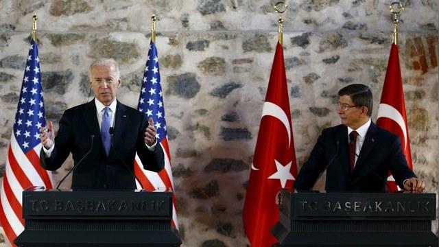 Байден: США и Турция готовы к «военному решению» сирийского кризиса