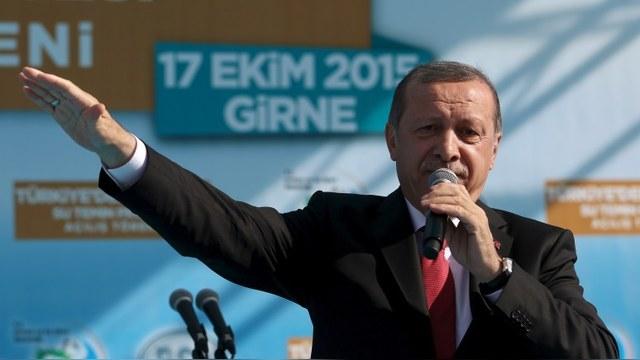 Bloomberg: Эрдоган назвал Путина, «по сути, оккупантом» Сирии