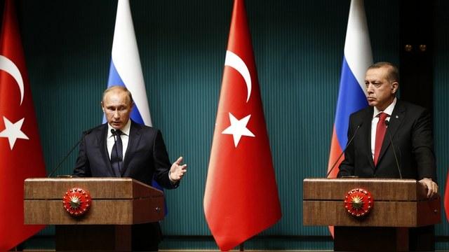 Le Temps: Разнять Путина и Эрдогана помогут лишь санкции