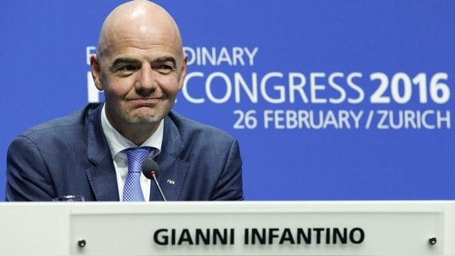 Le Monde: Путин поздравил Инфантино с победой на выборах президента ФИФА