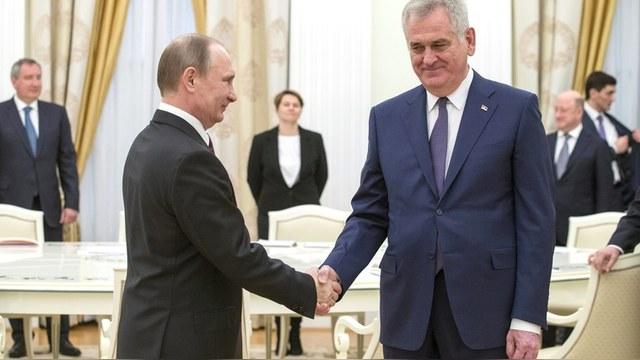 Президент Сербии: Путин поддержит нас во всем, включая возвращение Косова