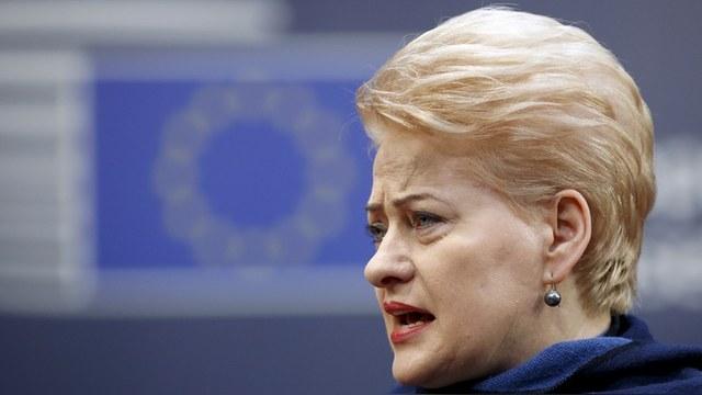 Daily Beast: Президет Литвы уверена, что Россия понимает только язык санкций