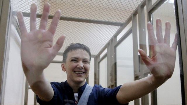 Libération: Россия никогда не убедит Запад, что Савченко – монстр